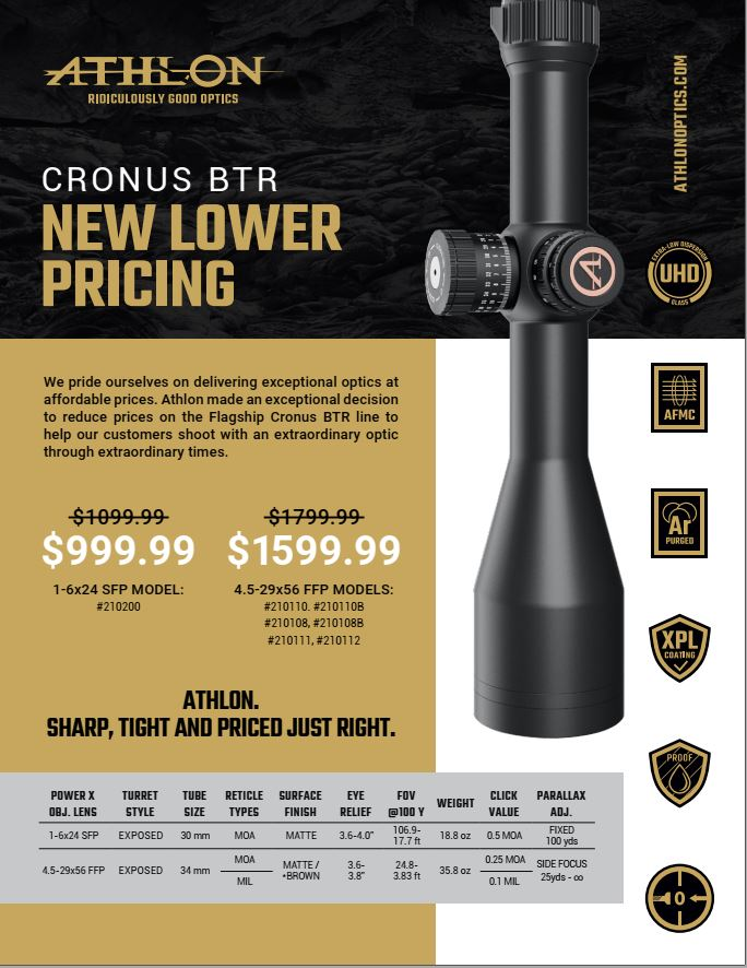 Athlon Optics Cronus BTR