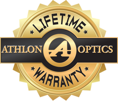 Athlon Optics Lifetime Warranty